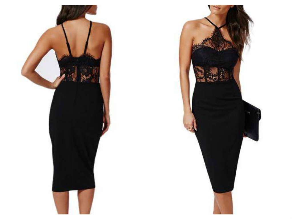 new chich dress lace