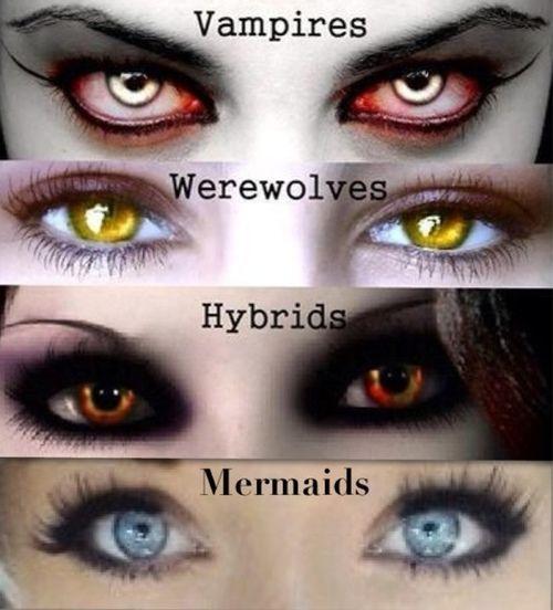 supernatural eyes