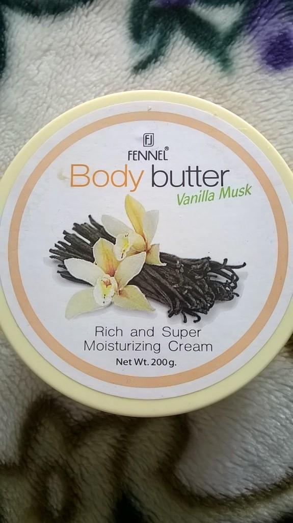 Vanilla Musk Body Butter