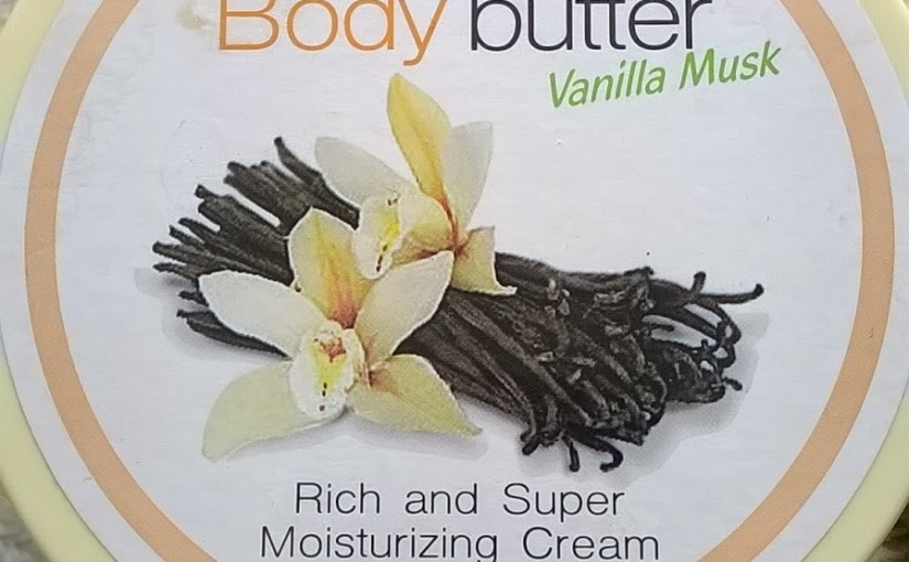 Vanilla Musk Body Butter