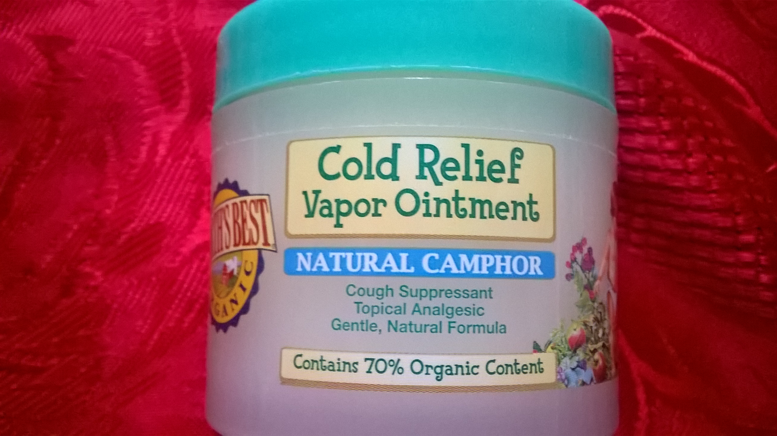 cold relief with camphor