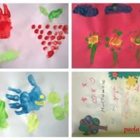Pictura cu degetele - o murdarie creativa