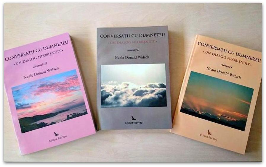 "Neale Donald Walsch autorul seriei ""Conversații cu Dumnezeu"" [P]"
