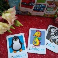 Jocuri educative pentru copiii de 4 ani: Carduri cu litere