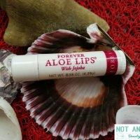 Balsam de buze Forever Living (Aloe Lips). Aplicare generala, eficienta locala