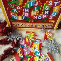 Puzzle ABC+123 – un puzzle cu alfabet analfabet