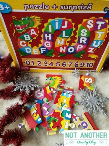 puzzle cu alfabet