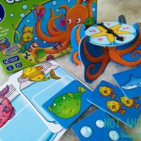 Jocul cu caracatita: Catch and Count. Prinde si numara [Kid's Game Review]