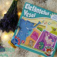 Elefantelul vesel – Forme, culori, fructe si legume [Game review]