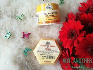 Cosmetice cu miere de albine
