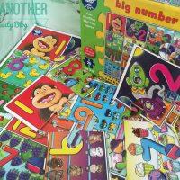 Puzzle de podea, Invata numerele