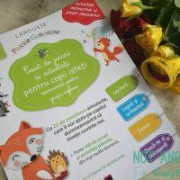 Caiet de jocuri si activitati pentru copii isteti 4-5 ani grupa mijlocie - Larousse