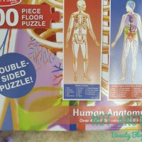 Puzzle cu corpul omenesc de la Melissa and Doug