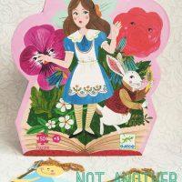 Puzzle cu poveste: Alice in Tara Minunilor