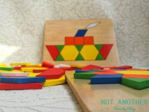 Puzzle din lemn