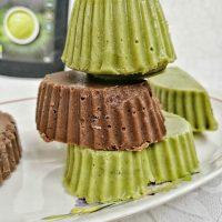 Ciocolata de casa cu pudra Matcha