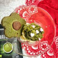 Desert Usor cu Ceai Verde Matcha - inghetata sau biscuiti?