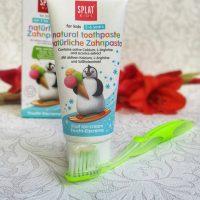 Pasta de dinti Splat pentru copii - fara fluor, cu gust de inghetata