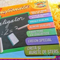 Tabla de scris pentru copii: Numere si Alfabet
