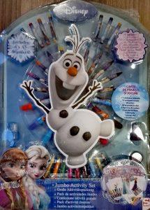Carte cu activitati Frozen
