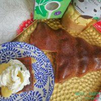 Desert fara zahar, cu Dulcisor - Prajitura pufoasa cu mere