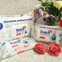 Touch Antibacterial - eficient si la indemana, pe timp de criza