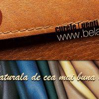 Manifest pentru genti de piele lucrate manual. Made in Romania!