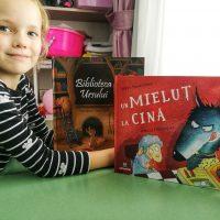 """Povesti pentru copii: """"Biblioteca Ursului"""" si """"Un Mielut la Cina"""""""