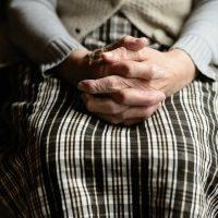 Bunica mea, maini de catifea