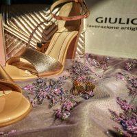 Seductie si senzualitate: sandale dama piele de la Giulio, din 1992