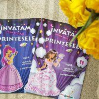 Carte activitati pentru fetite de 7 ani. Invatam cu printesele!