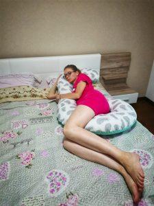 perna pentru gravide